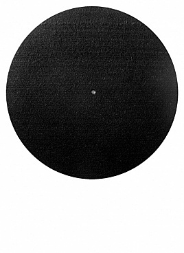Black slipmat