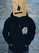 Mech navy blue zip hoody