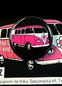 Pink bus button